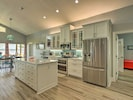 Beautiful kitchen with all new appliances.