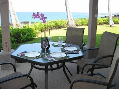 Lanai Dining At Its Best