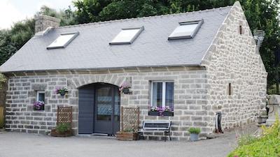 Kerlaz, Département du Finistère, France