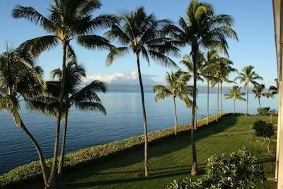 From the lanai facing the island of Lanai