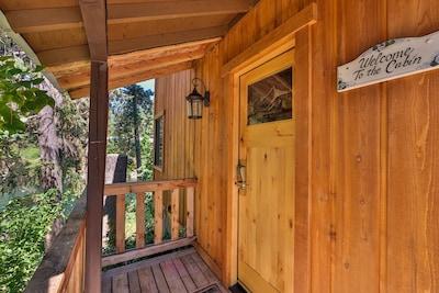 Your cabin getaway.