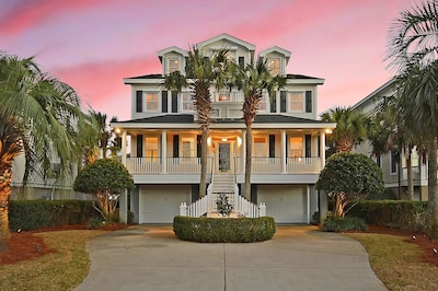 Stunning southern charm on a quiet street only 3 minutes from the beach....