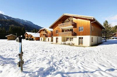 Base de Loisir des Lacs Aux Dames, Samoens, Haute-Savoie, France