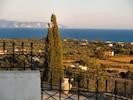 View of Zakynthos in background