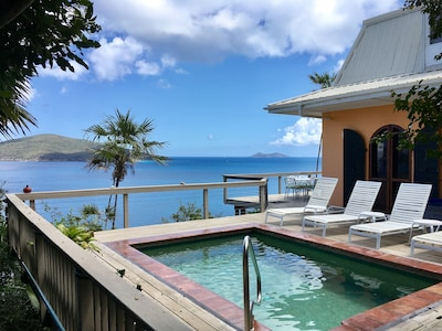 RELAX IN THE POOL AND GAZE AT THE VIEW!