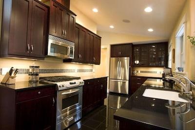 Ultra Contemporary Kitchen