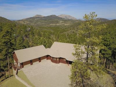 Granite View Lodge Aerial