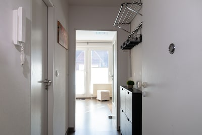 Blick vom Eingang in de Wohnung