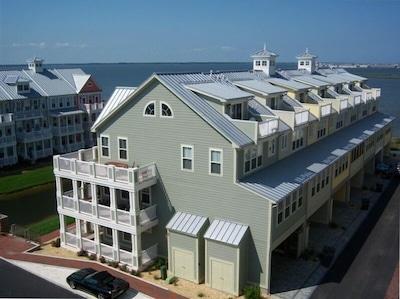 Breathtaking Bayview beyond featuring the unique three level wrap-around porch w