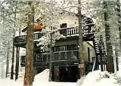 Front View of Chalet