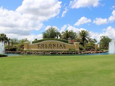 Colonial Country Club, Fort Myers, Floride, États-Unis d'Amérique