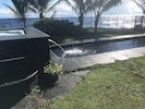 Hale Mar's hot tub, water fall and black bottomed lap pool