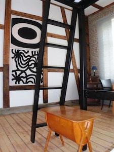 Wohn- Schlafzimmer