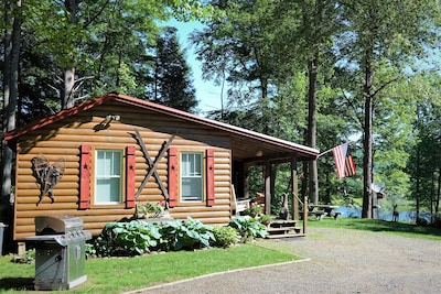Welcome to the cabin on the river. Perfect Adirondack get-away!!!