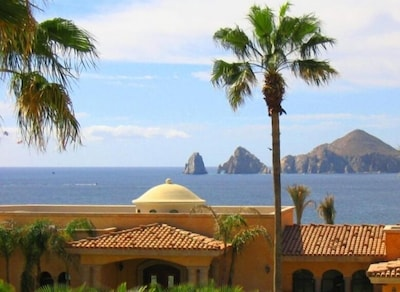 View of Land's End and famous Arch from your balcony.