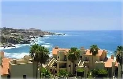 View from your Balcony in the other direction, of the Sea of Cortez.