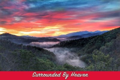 Enjoy the view of the Smoky Mountains!