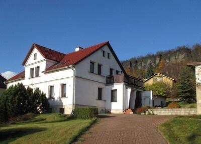 Tyssaer Wände, Tisá, Ústí nad Labem Region, Tschechische Republik