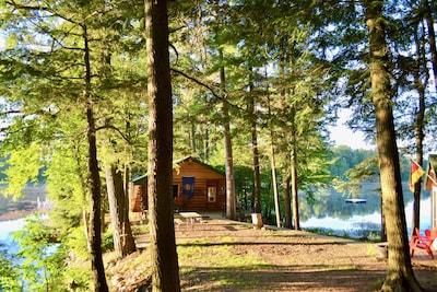 Post Lake, Elcho, Wisconsin, USA