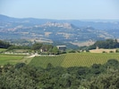 The view of Todi from Sant'Antimo