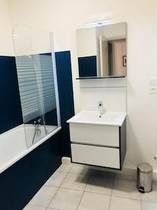 Un bon bain...