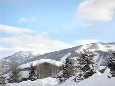 Views of Park City Resort and Deer Valley from Home