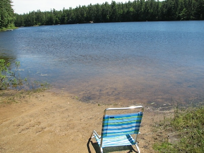 Papoose Pond, Waterford, Maine, United States of America