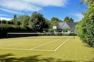 Private all-weather tennis court.  (Rackets & balls provided)