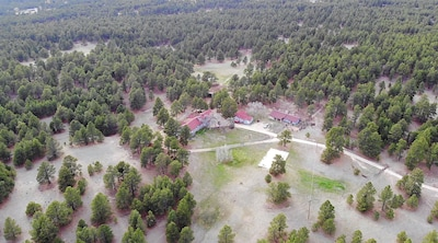 View of the ranch property