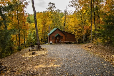 RARE! Secluded Luxury Cabin on private 100 Acres of Woods