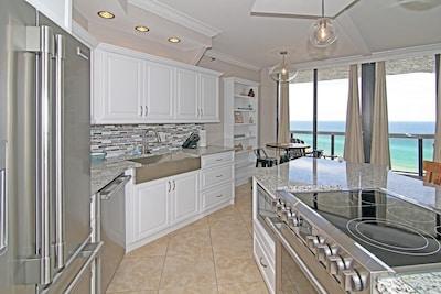 All high-end appliances, new cabinets & granite.