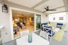 Large enclosed private deck on main living floor.