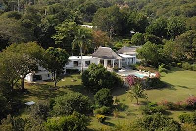 Private Villa on 5 Acres overlooking Caribbean Sea