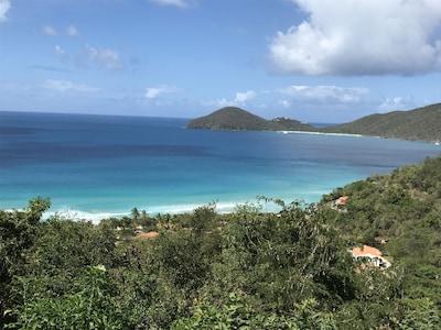 View of Lambert Beach from Balcony (pre-Irma)