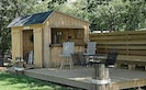 The Boat Shack and dock/deck for family gatherings & Happy Hours!?!