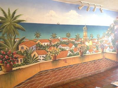 Our Bahia de Banderas mural