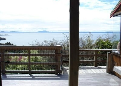 Lake view from large deck