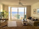 Enjoy the breathtaking beach view as soon as you step in the front door.