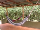 Chill out hammock area