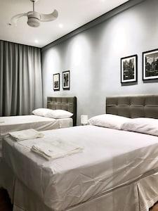Apartamento de 2 quartos com padrão conforto de Hotel na Avenida Paulista
