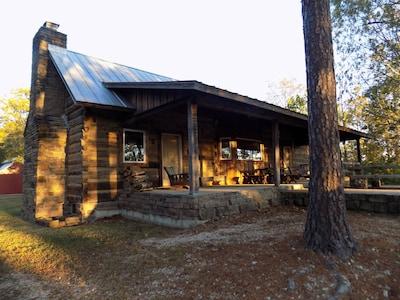 Autumn morning at Cave Creek Cabin