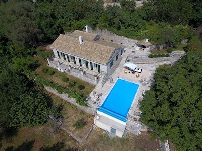 Méngoulas, Région des îles Ioniennes, Grèce