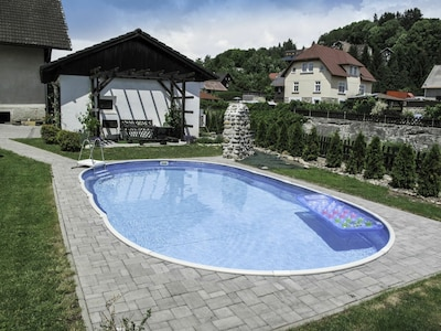 Water, Plant, Cloud, Property, Building, Swimming Pool, Azure, Sky, Land Lot, House
