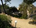 Villa Maria mit Frühstücksplatz und Garten