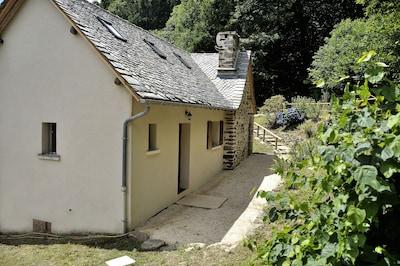 Derrière maison