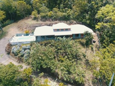 Villa à louer pour les vacances piscine privée à Bouillante, Guadeloupe