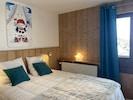 Chambre double (lit 160x200) - Location Tignes le Lavachet