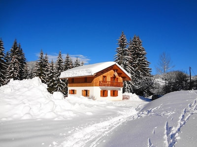 Chalet varni in Winter