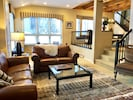Warm, inviting, designer-decorated, natural light, friendly owner. Spacious.
