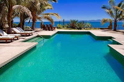 40 X 20 foot pool on the Sea of Cortes